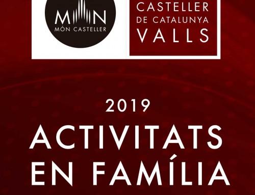 EL MUSEU CASTELLER DE CATALUNYA A VALLS ORGANITZARÀ ACTIVITATS EN FAMÍLIA ELS CAPS DE SETMANA D'ABRIL I MAIG
