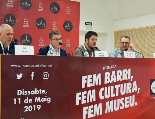 """La Jornada """"Fem Barri, Fem Cultura, Fem Museu"""" ha estat tot un èxit de satisfacció entre els assistents i ha comptat amb moltes reflexions d´alt valor per al Museu Casteller de Catalunya."""
